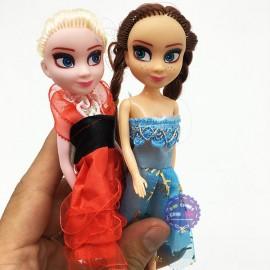 Bộ 2 hộp đồ chơi búp bê Frozen: Elsa và Anna mini