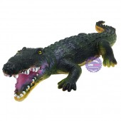 Đồ chơi mô hình cá sấu bằng nhựa mềm có nhạc