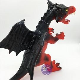 Đồ chơi khủng long rồng có cánh bằng nhựa mềm dùng pin