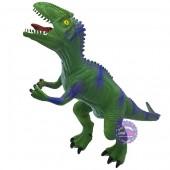 Đồ chơi mô hình khủng long ăn thịt Velociraptor bằng nhựa mềm có nhạc