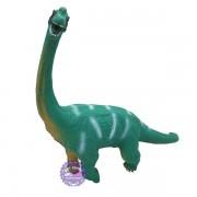 Đồ chơi mô hình khủng long cổ dài Brachiosaurus bằng nhựa mềm có nhạc