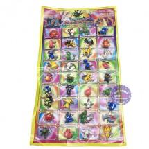 Vỉ đồ chơi mô hình Pokemon bằng nhựa 36 con (3cm)