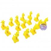Bộ đồ chơi thú chít hươu cao cổ 15 con túi lưới