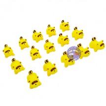 Bộ đồ chơi thú chít chồn 15 con túi lưới 037-31