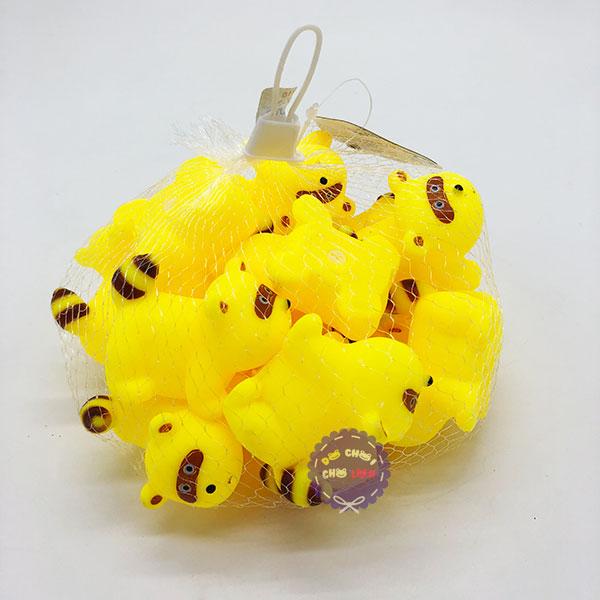 Bộ đồ chơi thú chít chồn 3 con túi lưới 037-31