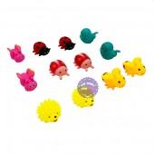 Bộ đồ chơi thú chít bọ 6 con túi lưới 037-32 (Đủ mẫu)