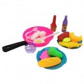 Bộ đồ chơi chảo chiên đồ ăn bằng nhựa Vĩnh Phát