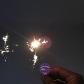 Bộ 50 cây pháo bông que nhang sinh nhật Sparklers 30cm