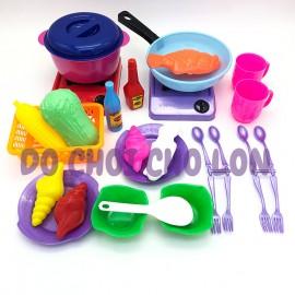 Bộ đồ chơi nấu ăn BẾP GA CHẢO CHIÊN Vĩnh Phát 058