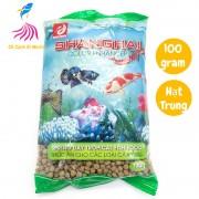 Thức ăn cho cá cảnh ShangHai hạt TRUNG 100g