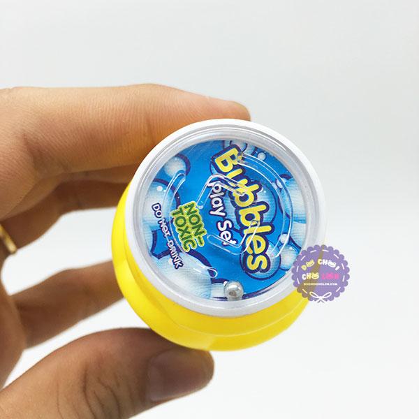 Vỉ đồ chơi 3 bình thổi bong bóng xà phòng