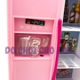 Hộp đồ chơi nhà bếp pin 2 ngăn: Tủ lạnh, lò nướng 5616