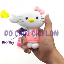 Vỉ đồ chơi súng thổi bong bóng xà phòng hình Kitty CS377