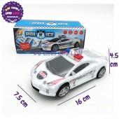 Hộp đồ chơi xe hơi cảnh sát chạy pin đèn Led nhạc 3303-2