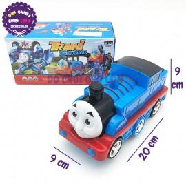 Hộp đồ chơi xe lửa Thomas biến hình Robot có đèn nhạc 8992