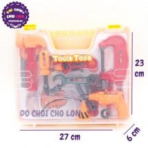 Hộp đồ chơi vali đồ nghề sửa chữa 16 món 36778S