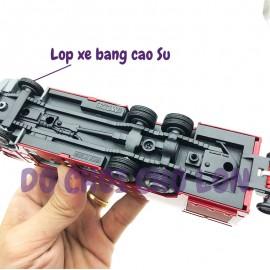 Xe mô hình cứu hỏa phun nước bằng sắt 1:50 KDW 625013