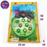 Vỉ đồ chơi đập chuột hình quả TÁO phát nhạc dùng pin