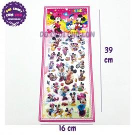 Hình dán sticker nổi 3D hình chuột Mickey