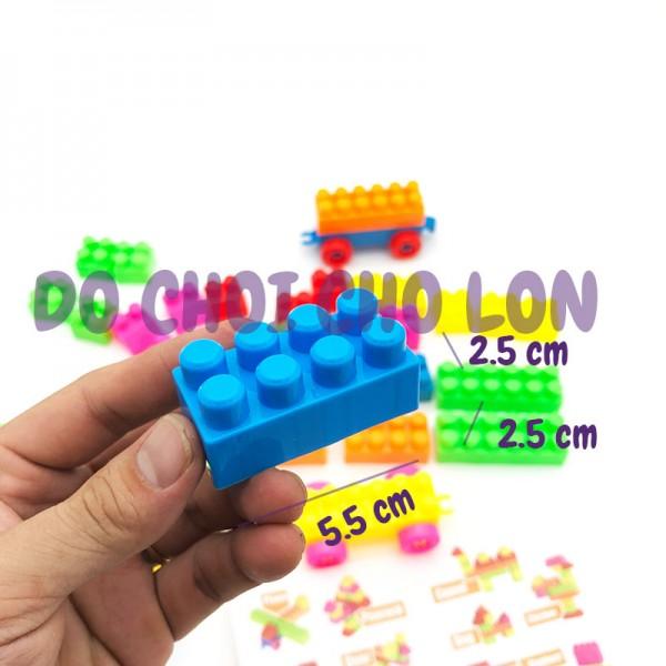 Bộ đồ chơi lắp ráp mô hình 48 mảnh ghép bằng nhựa 195-62