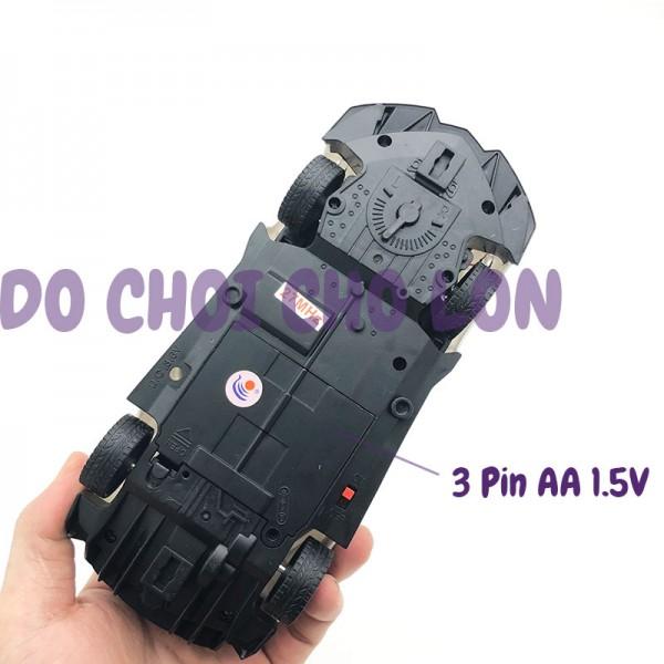 Hộp đồ chơi xe cảnh sát mở cửa điều khiển từ xa có đèn 869-24