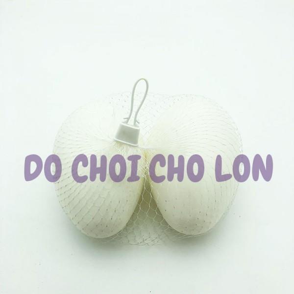 Compo 2 quả trứng khủng long đồ chơi bằng nhựa túi lưới
