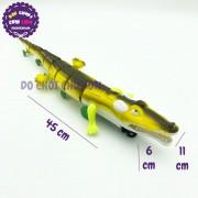 Đồ chơi mô hình cá sấu bằng nhựa chạy pin có đèn 668