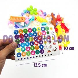 Bộ đồ chơi lắp ráp đu quay, công viên Blocks Paradise 205-18