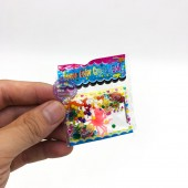 Compo 10 bịch hạt nở kèm thú nhiều màu trong nước (100 hạt/1 bịch)