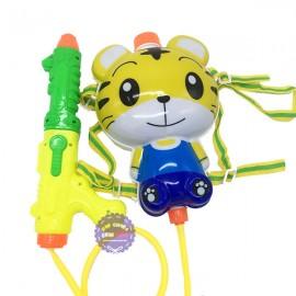 Bộ đồ chơi súng thụt nước & ba lô dự trữ nước hình chú cọp