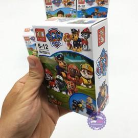 Bộ 6 hộp đồ chơi lắp ráp chó cứu hộ Paw Patrol