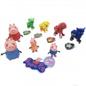 Hộp đồ chơi chó Paw Patrol & heo Peppa Pig