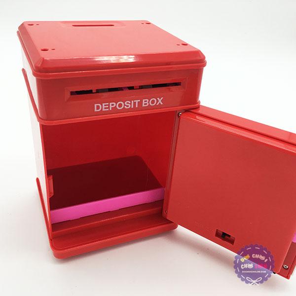 Hộp đồ chơi két sắt mini đựng tiền hình Angry Birds