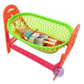 Đồ chơi nôi ngủ đồng sanh cho búp bê