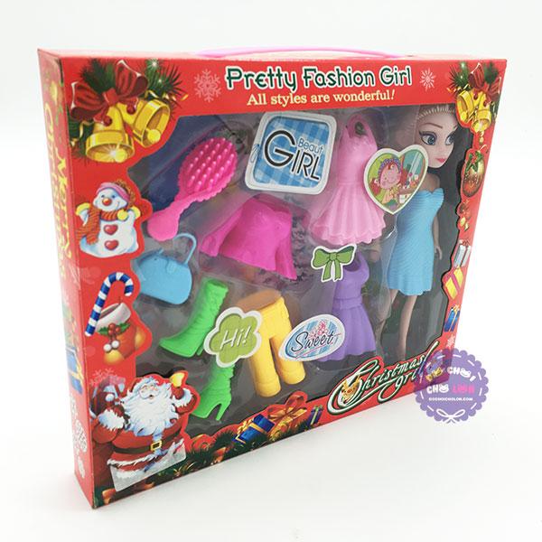Hộp đồ chơi búp bê Elsa & khuôn phụ kiện
