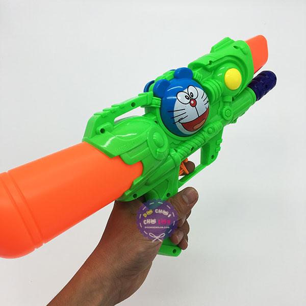 Đồ chơi súng nước áp lực 1 nòng nhỏ hình Doraemon