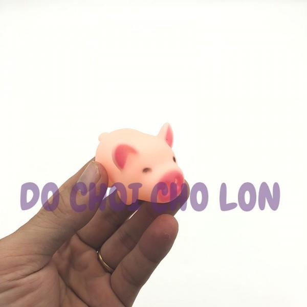 Bộ đồ chơi 3 chú HEO CON chít bằng nhựa