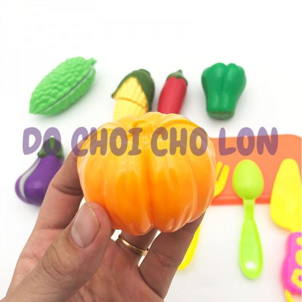 Bộ đồ chơi túi rau củ quả cắt