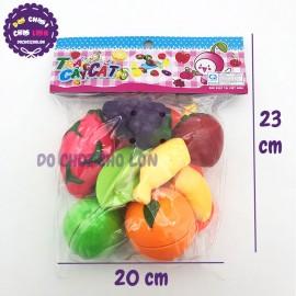Bộ đồ chơi túi trái cây cắt