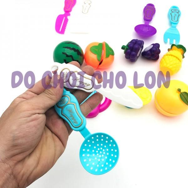 Bộ đồ chơi nấu ăn cắt trái cây 13 món bằng nhựa 4178