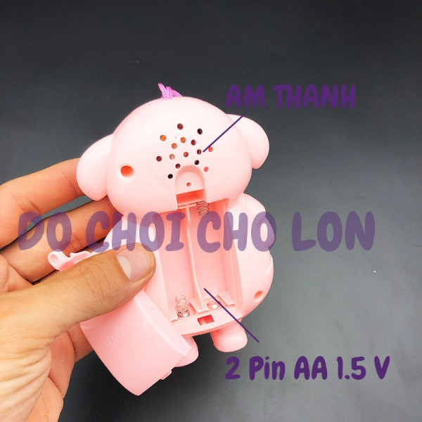 Đồ chơi điện thoại cầm tay CHÚ HEO dùng pin có nhạc 7795
