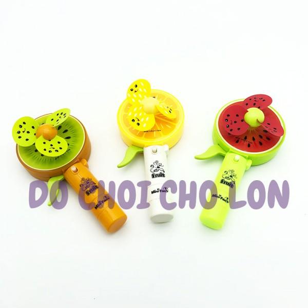 Đồ chơi quạt bóp tay trái cây phun nước KD077