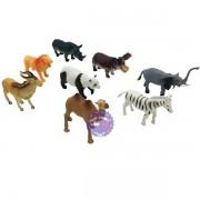 Bộ đồ chơi các loài thú rừng 8 con bằng nhựa Animal Set