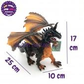Đồ chơi rồng ĐEN có cánh bằng nhựa cứng 056