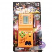 Vỉ đồ chơi máy chơi game điện tử xếp hình, xếp gạch dùng pin