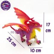 Đồ chơi rồng ĐỎ có cánh bằng nhựa cứng 056