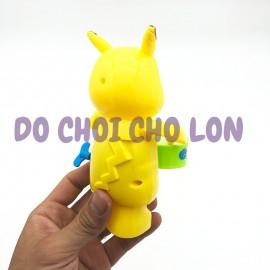 Đồ chơi Pikachu đánh trống vặn cót bằng nhựa 3583-22A
