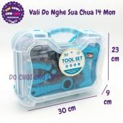Hộp đồ chơi vali đồ nghề sửa chữa 14 món 6647-1