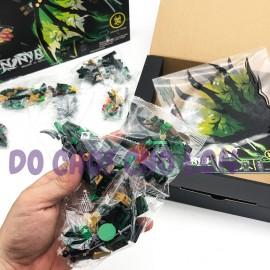 Hộp đồ chơi lắp ráp Ninja rồng (LORD GARMADON) 2in1 307 miếng 634