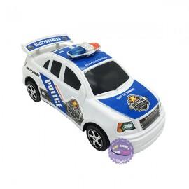 Đồ chơi xe hơi cảnh sát mini bằng nhựa chạy trớn 11666-2